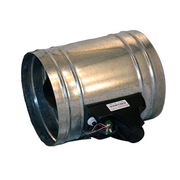 Zone control damper tubes with power open power close for Zone damper motor repair