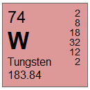 Tungsten (W) Compounds