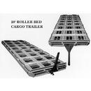20' Cargo Trailer with Indexable Roller Sections