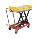 Conveyor with Retractable Stops
