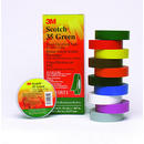 Scotch® Vinyl Electrical Color Coding Tape, Wire Rack Display