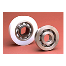 Single Row - Hex Bore 316 Stainless Raceways Conveyor Ball Bearings