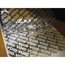 Silver Void Polyester Film Coated Tape