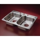 Double Stainless Steel Self Rim Sink