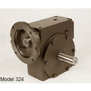 Hub City Right Angle Worm Gear - Single Reduction Speed Reducer