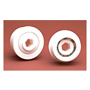 Single Row - Hex Bore Plastic Raceways Conveyor Ball Bearings