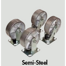 Steel Hopper Casters