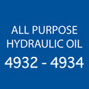 All-Purpose Hydraulic Oil 4932 - 4934
