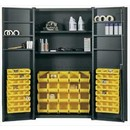 Bin &amp; Shelf Storage Cabinets