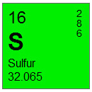 Sulfur (S) Compounds