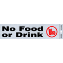 "2"" x 8"" Flexible Mylar Self-Adhesive Signs"