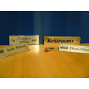 Custom Manufacturing of Office Signage and Badges - Engraving Marketing Concepts (EMC) Inc.
