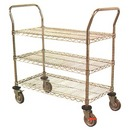 Multi-Purpose Chrome Wire Carts