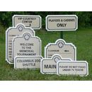 Plastic, Metal, Wood &amp; Magnetic Signs