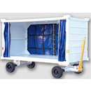 Heavy Duty Rigid Mount Baggage/Cargo Cart