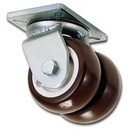 Heavy-Duty Dual-Wheel Casters
