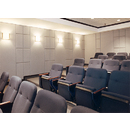 Working Walls builds a Variety of Custom Acoustical Wall Panels Designed for Auditoriums, Conference Rooms, Offices, Gymnasiums, Lobbies and more