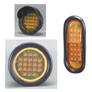 Flush Mount LED Rapid-Fire Warning Lights