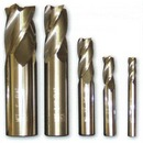 Solid Carbide High Helix End Mills