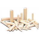 Wooden Dowel Pins - Plain