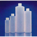 Unwashed Cylinder Round Bottles, Assembled with Cap and Liner