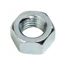 Zinc Plated Coarse Thread Steel Hex Nuts