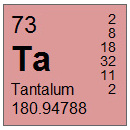 Tantalum (Ta) Compounds