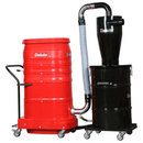 Dust Collection for Large Floor Grinders