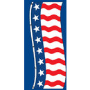 Uncle Sam Vertical Flags