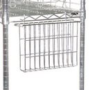 File Basket for Wire Shelving