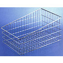 Chrome Plated Slanted bakery Baskets