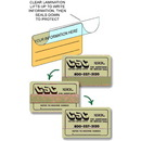 Lift-n-Seal Labels
