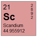 Scandium (Sc) Compounds