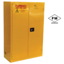 Model BM Safety Flammable Cabinets with Manual Close Doors