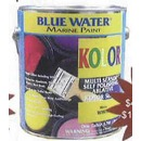 Kolor™ bright Color Ablative Bottom Paint Perfect For Bright Colors, Aluminum A Fiberglass Hulls, A Trailerable Boats