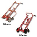 The Tandem and Drainer Drum Trucks