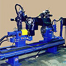 Automated Circumferential Lathe Welders