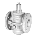 Lubricated Plug Valve, 100% Pipe Area, Semi-Steel, Flanged, 602 - Homestead/Mosser Valve