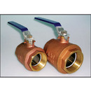Brass Ball Valves with or without Locking Handles