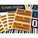 Custom Barcoded Labels