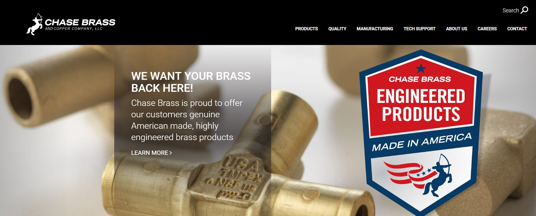 Chase brass and copper company addition turner construction company - Capabilities Services