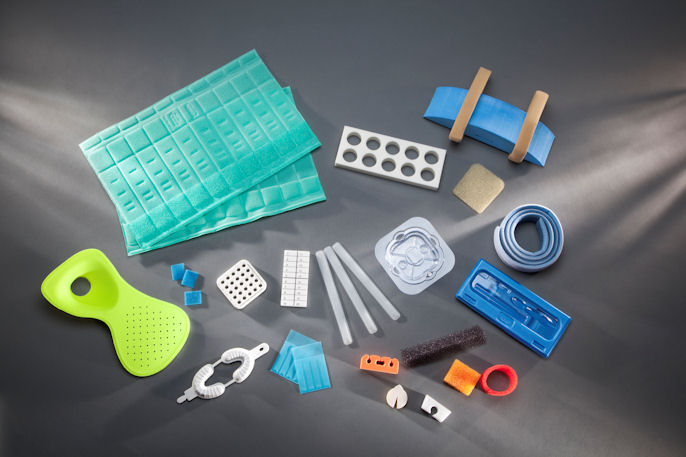 Custom foam components and medical device packaging by UFP Technologies