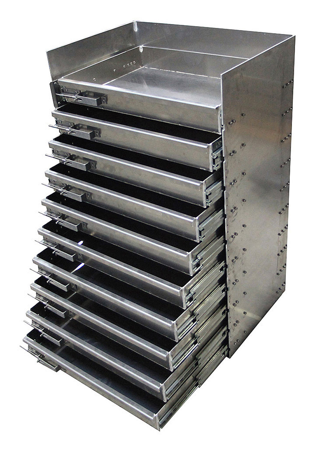 Aluminum Storage Drawers