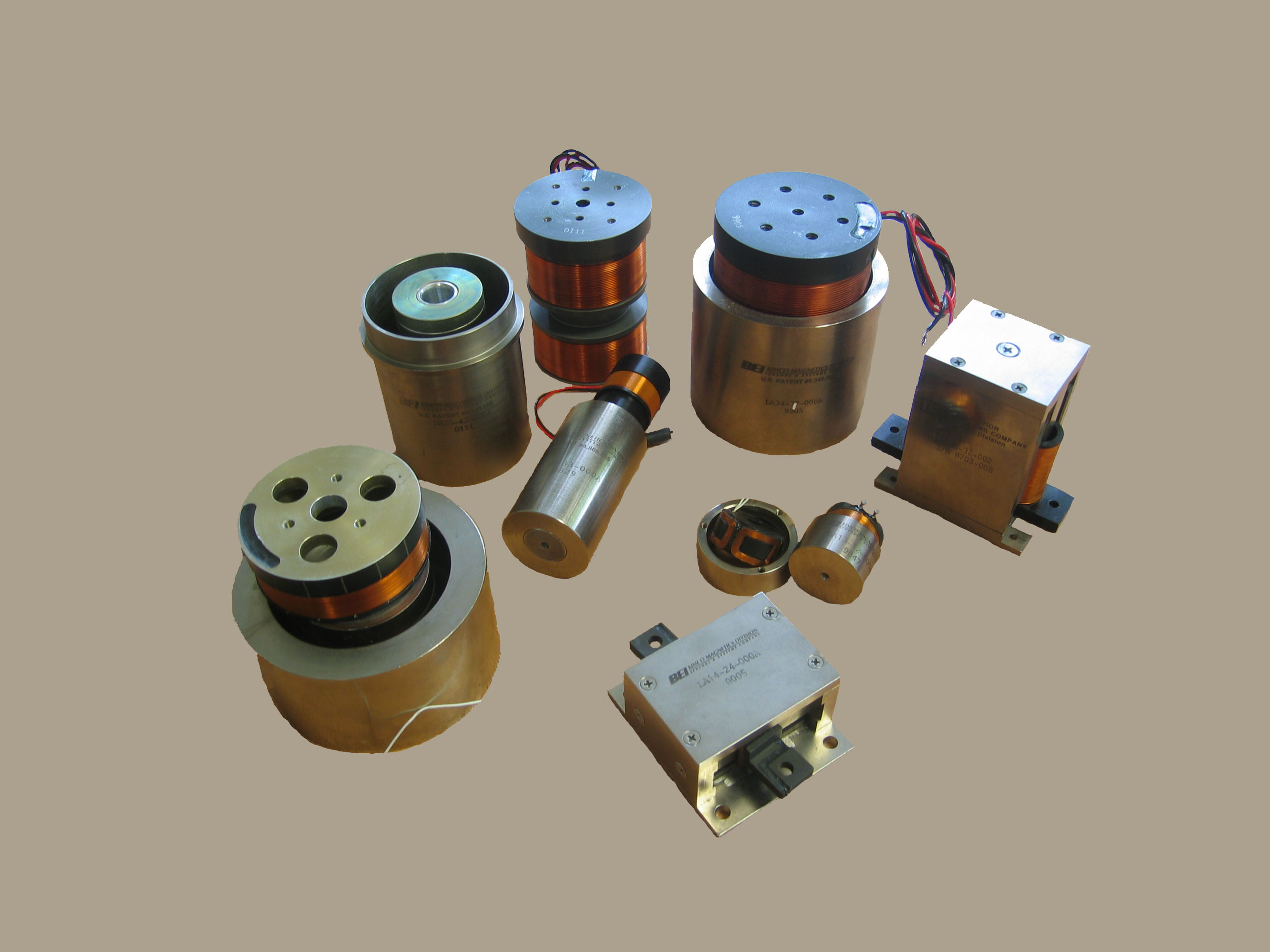 BEI Kimco voice coil actuator products