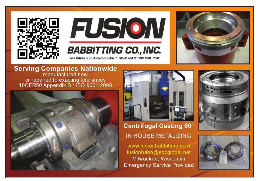 Fusion Babbitting Co Inc Milwaukee Wisconsin Wi 53219