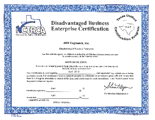 certifications glossary ownership diversity small business enterprise