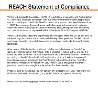 Reach definition what is reach find reach companies for Reach certificate of compliance template