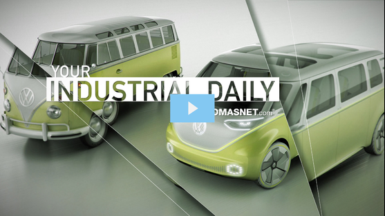 The new Volkswagen I.D. Buzz electric vehicle