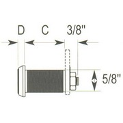 DuraCam® II Removable Core Cam Lock from Northeast Lock Co