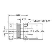 BWLC65 CPLG 1//2X1//2
